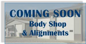 Coming Soon Body Shop
